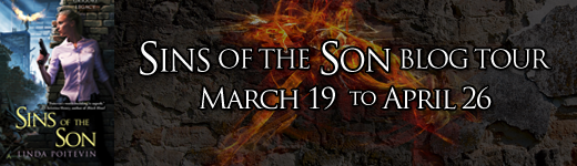 Sins of the Son by Linda Poitevin blog tour hosted by Parajunkee.com