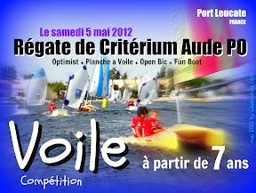 régate optimist voile critérium_école_de_sport_voile CVCL Leucate Génération_Opti