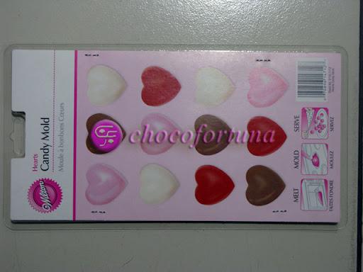 Cetakan Coklat Love Hati Hearts