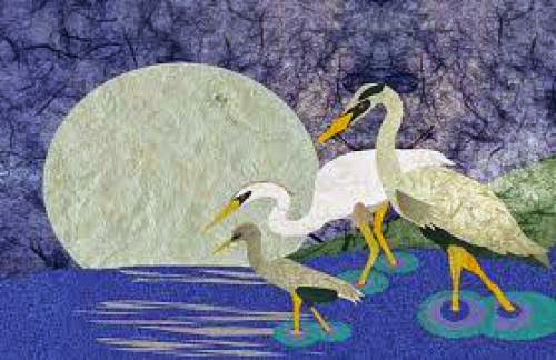 April Full Moon Names Peaceful Crane Moon