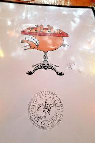 A visit to famed Montreal restaurant Au Pied de Cochon- the menu cover