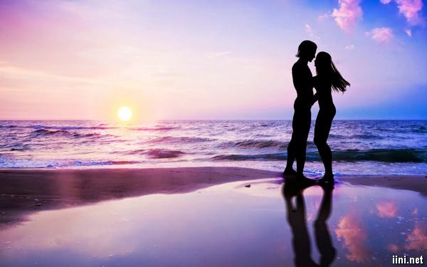 ảnh tình yêu và Biển đẹp