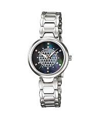 Jam Tangan Wanita Analog Tali Kulit  Casio Standard : LTP-1410L-4AV
