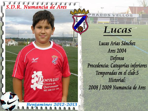 ADR Numancia de Ares. Lucas.