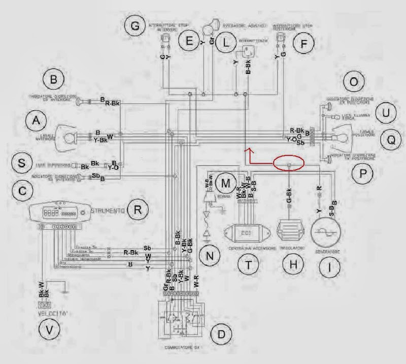 husqvarna motorcycle wiring diagram husqvarna 250 500cc wiring on new to me 2009 wr 250 cafe husky on husqvarna motorcycle wiring