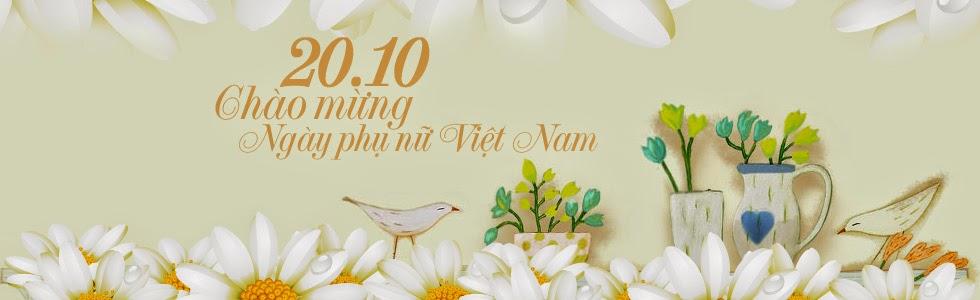Anh bia facebook 20-10 chao mung ngay phu nu Viet Nam