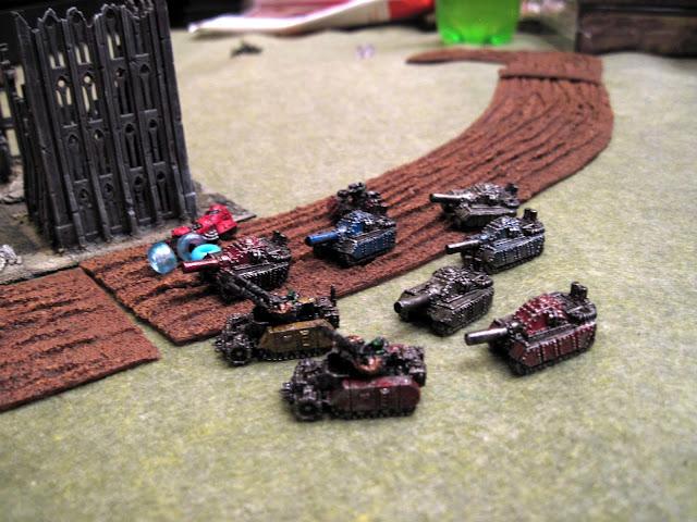 The technocolor Blitz Brigade.
