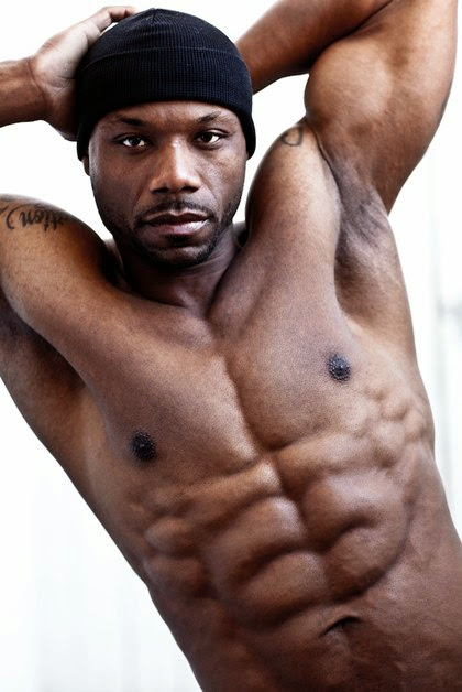 Chocolate Flavour Black Muscle Hunks