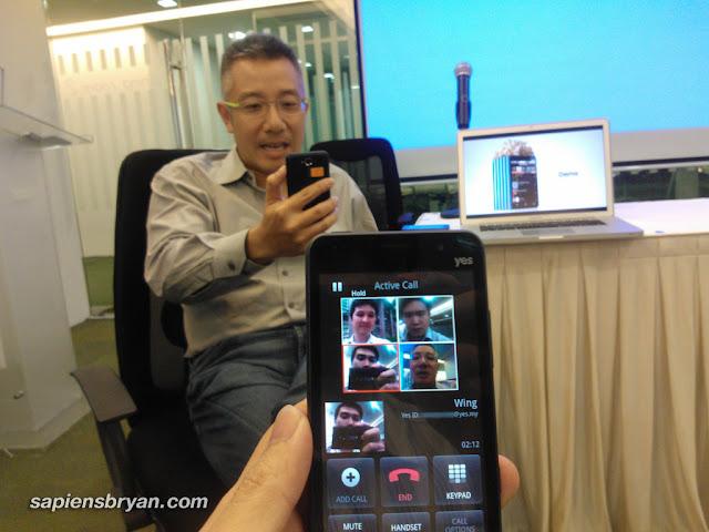 4-way video calls