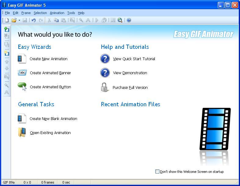 Easy GIF Animator 5.1 Pro Full - Phần mềm làm ảnh động - Image 01