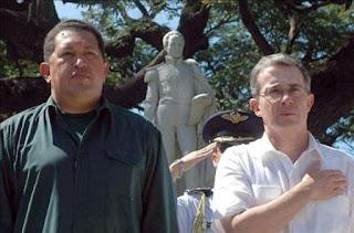 Uribe y Chavez  Copolitica