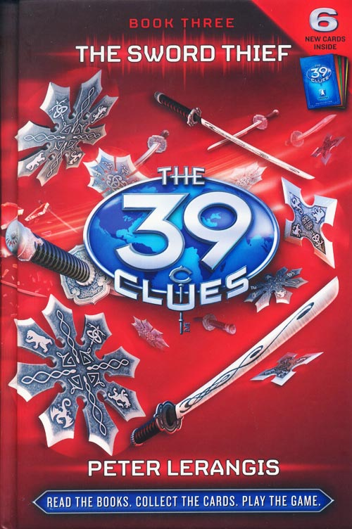 Book Review: The Sword Thief (39 Clues, Book 3), Cover Art