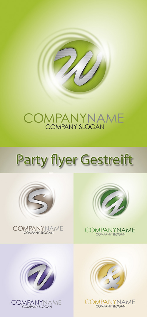 Stock: Partyflyer Gestreift