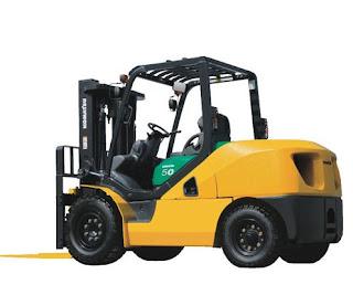 xe nang Komatsu 3.5 - 5.0 tan