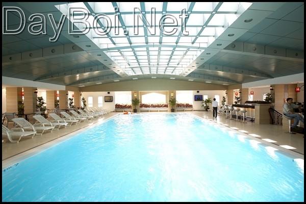 Hồ bơi Sun Swimming CS II có mai che kín