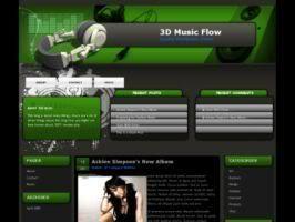 3D Music Flow