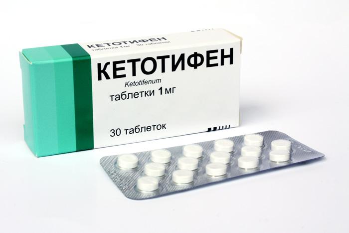 კეტოტიფენი / KETOTIFEN
