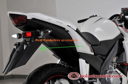 rear fenderless asesoris vixion lightning