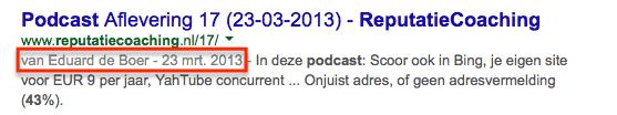 Nieuwe Google Authorship zonder foto