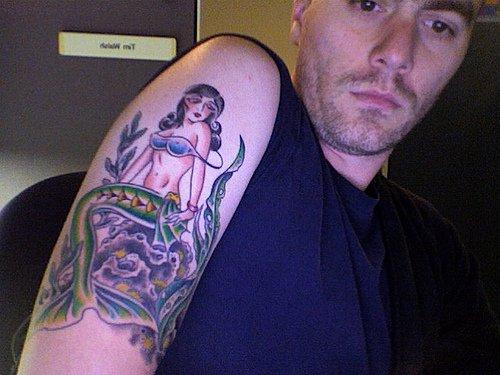 Little Mermaid Tattoos-Best Sleeve Tattoos