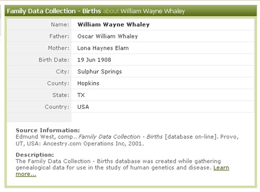 """Roland """"Bud"""" Culligan claimed he followed an E.A. order to execute three Dallas Shooters WilliamWwhaleyBirthAncestry"""