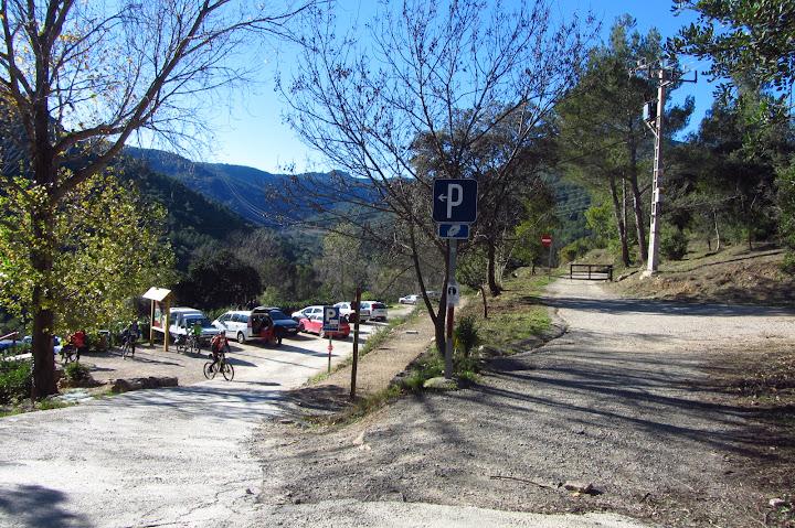 aparcamiento niu de l'aliga