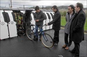 Getxo estrena los parking antirrobo para bicicletas