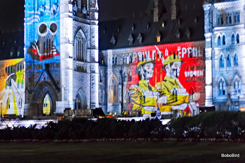 Mosaika : Sound and Light Show, Ottawa