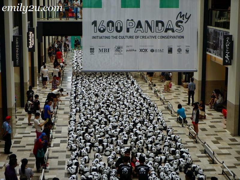 'The 1600 Pandas World Tour in Malaysia' Exhibition
