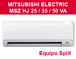 Split Mitsubishi Electric MSZ HJ 25 / 35 /50 VA