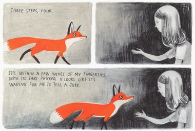 Art for Jane, The Fox and Me by Isabelle Arsenault