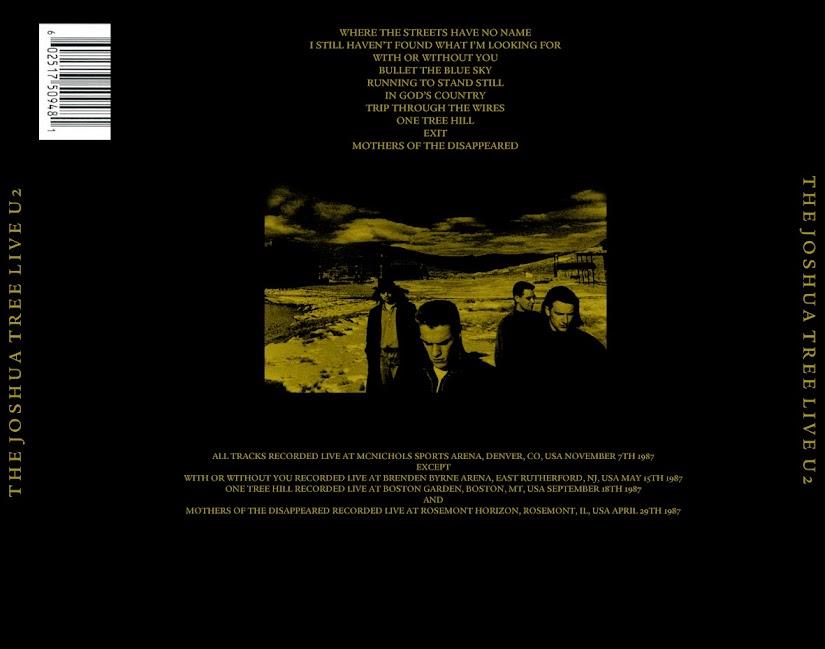 U2 - A Live History 1980-1993 (6 CD & Covers) - Guitars101