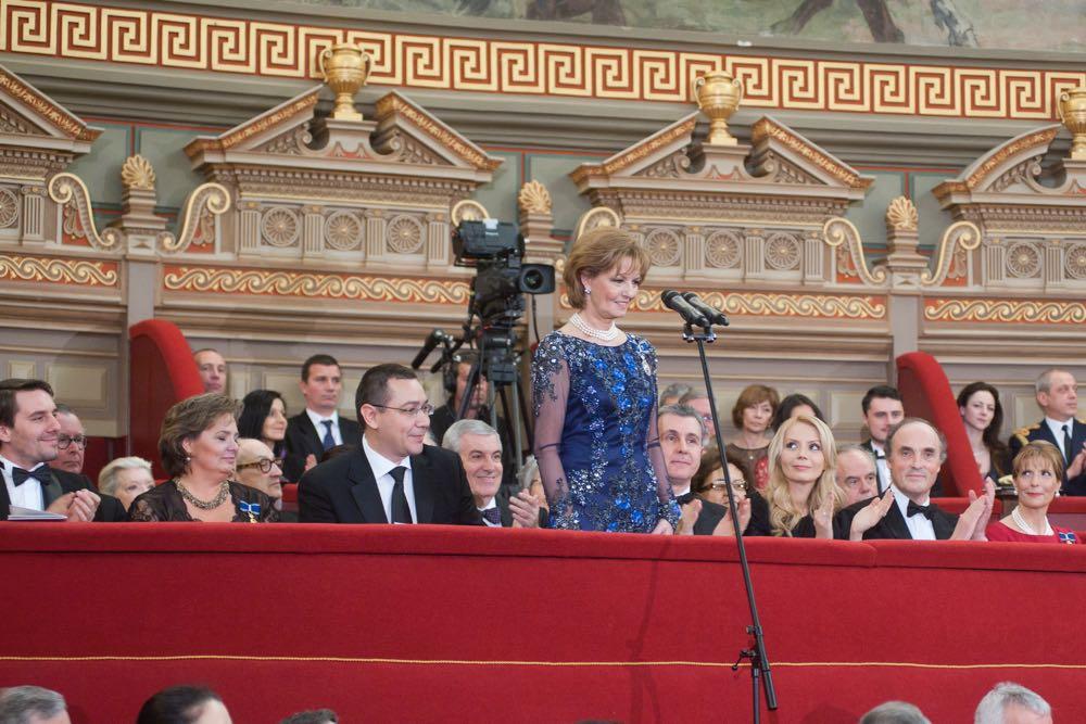 Discursul Principesei Moștenitoare Margareta la Ateneul Român