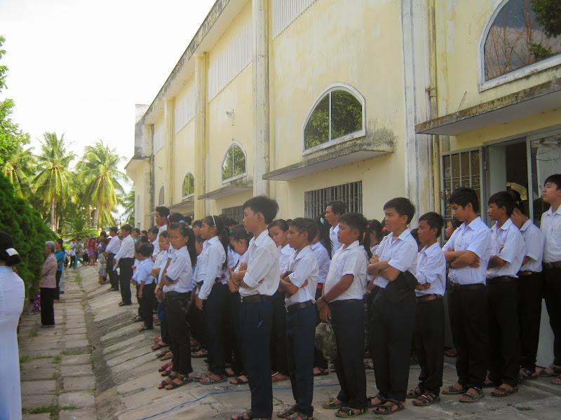 Nghi thức làm phép nhà giáo lý mới giáo xứ Dục Mỹ- Giáo phận Nha Trang