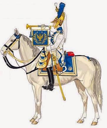 Trumpeter 1st Westphalian Cuirassiers Regiment 1813 MiniArt 1/16 TrompeteDragonImpereatrice