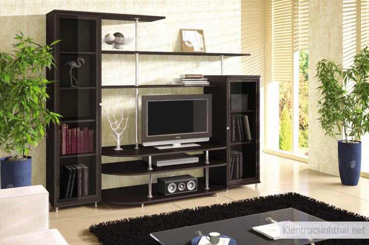 Mẫu tủ tivi 17
