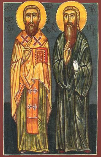 St Jacob The Elder And Disciple Of St Anthony Metropolitan Of Chkondidi
