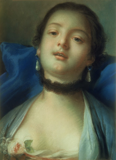 Francois Boucher - Portrait of a Woman