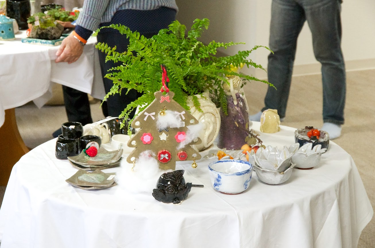 数々の陶器