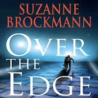Book cover of Over the Edge by Suzanne Brockmann (Troubleshooters series #3)