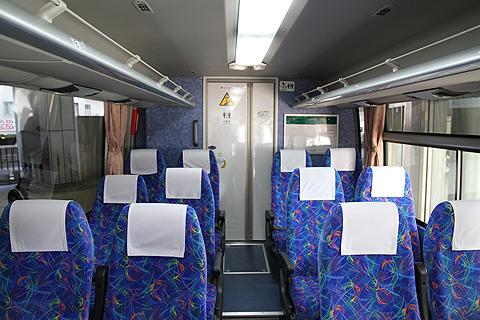 JR四国バス「観音寺エクスプレス」 車内 その1