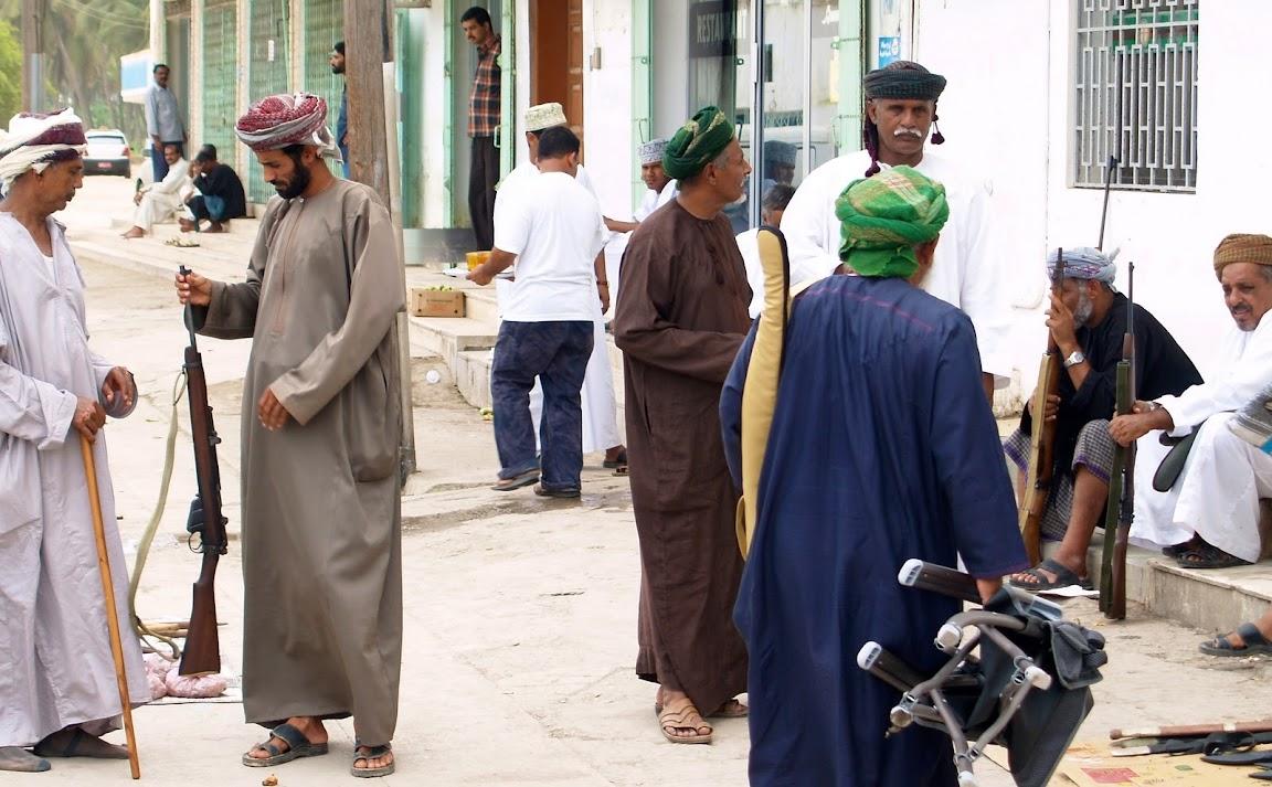 Gun market in Salalah