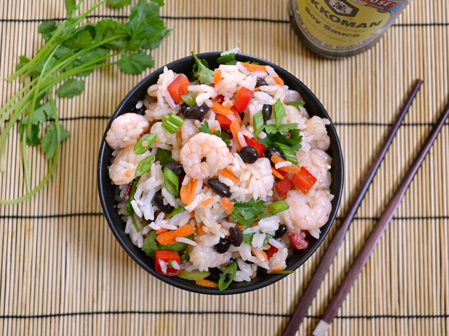 Shrimp & Rice Salad
