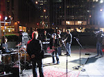 """We sound-checked before the sun came up...sang Sheryl Crow's """"Favorite Mistake"""" with the words """"Woke up New York this morning"""""""