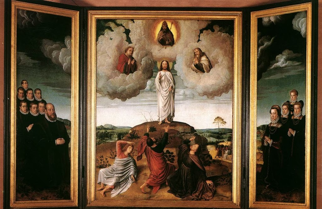 Gerard David - Transfiguration of Christ
