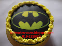 Batman Cake Edible Image