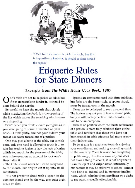 Etiquetter Rules for State Dinners | Politics & Pot Roast