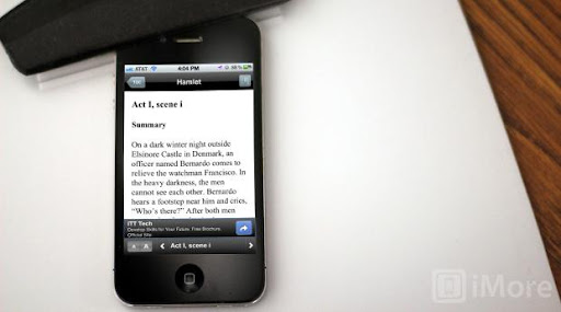 Free SparkNotes app for iPhone