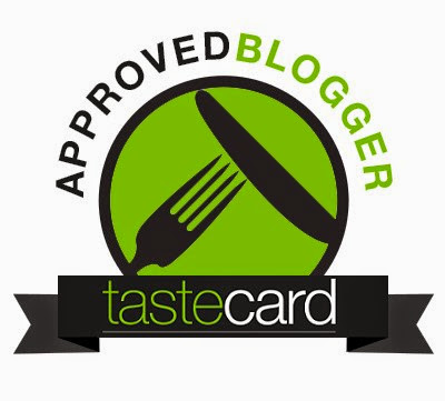 Approved tastecard Blogger