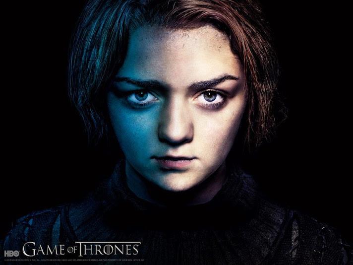 Arya Stark. cuarta temporada de juego de tronos
